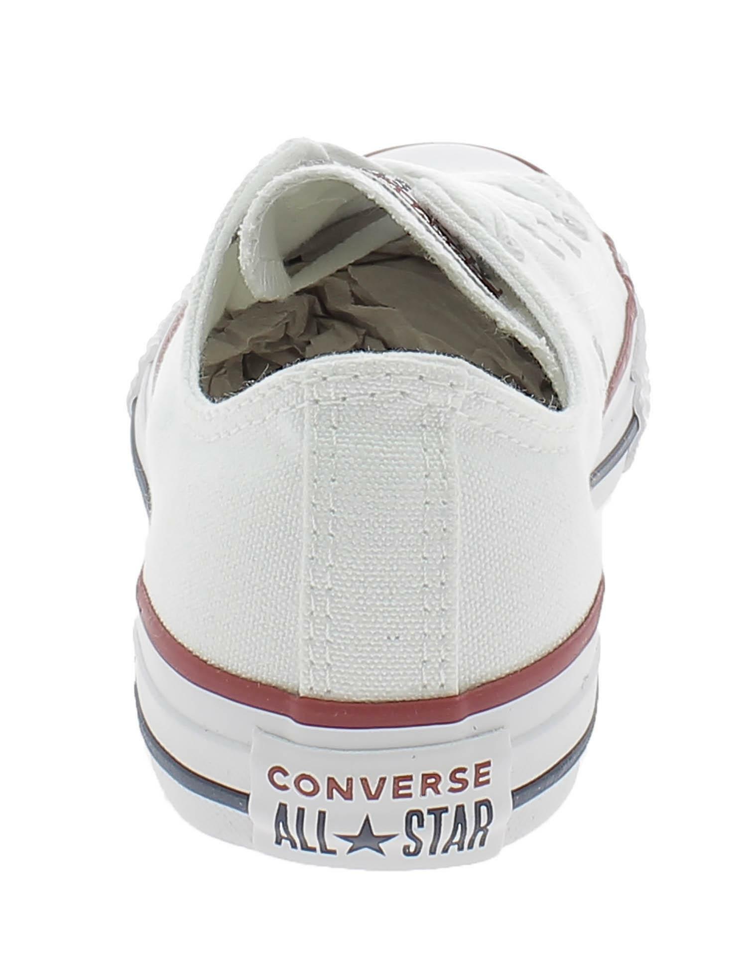 converse converse all star ct scarpe sportive bambino bianche 3j256c