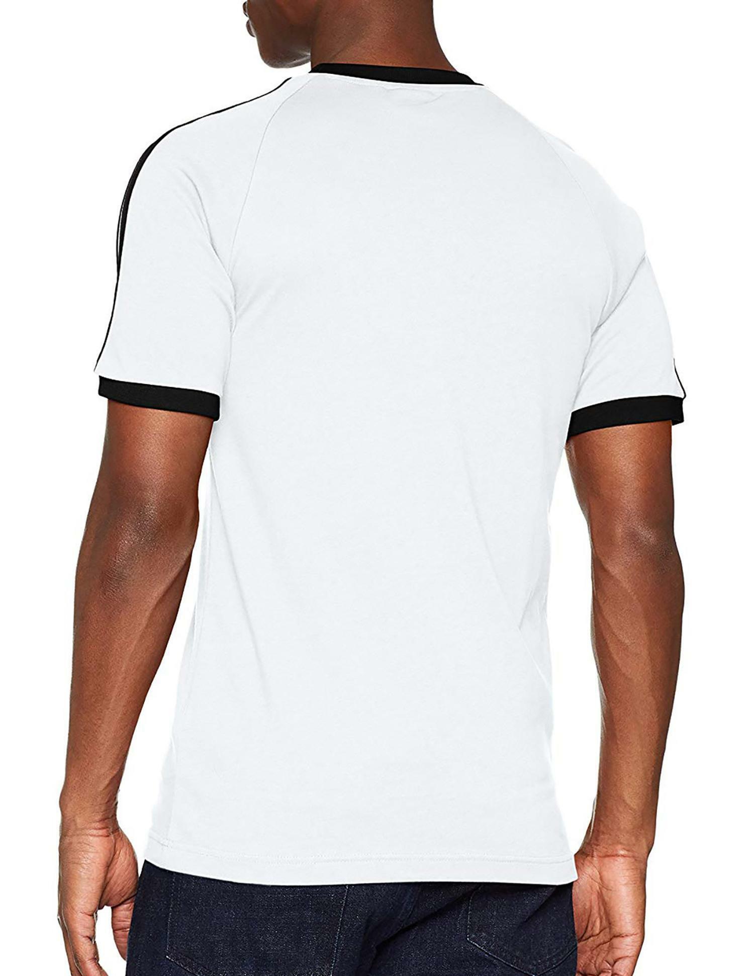 adidas adidas 3-stripes tee t-shirt uomo bianca cw1203