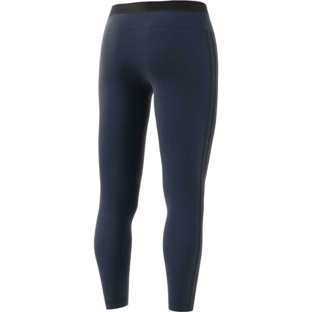 adidas ess 3s tight leggings donna blu