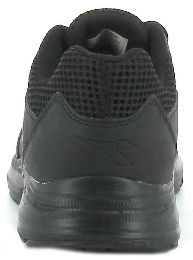 diadora shape 6 sl scarpe sportive uomo nere pelle
