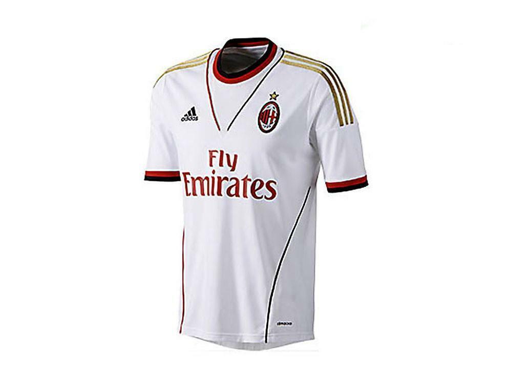 adidas adidas maglietta calcio ac milan away z27790