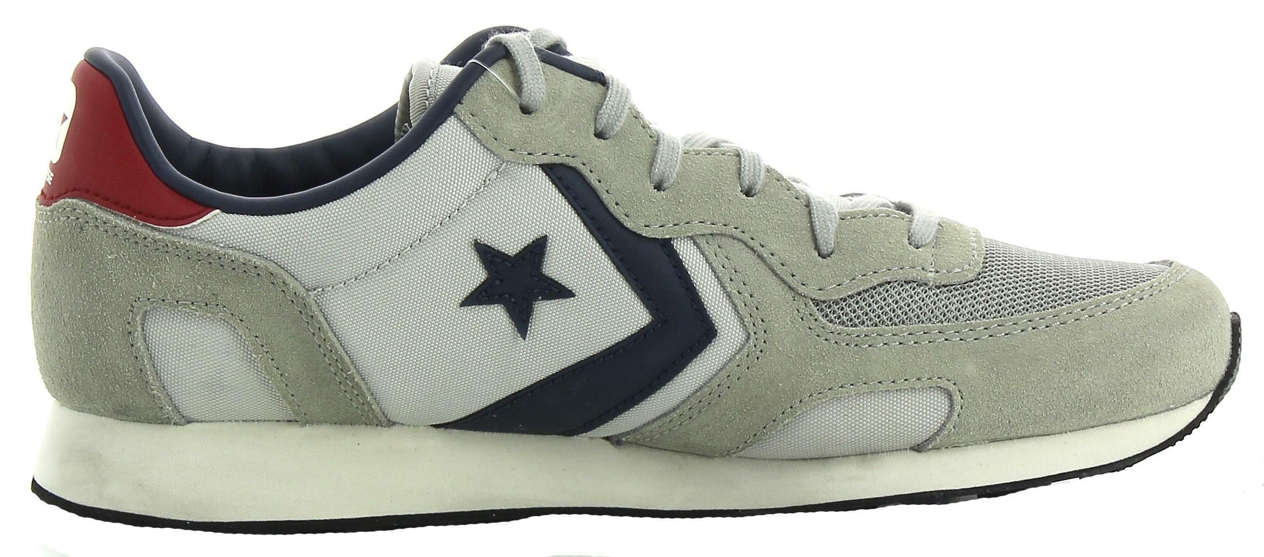 Converse auckland racer distressed ox scarpe sportive uomo grigie