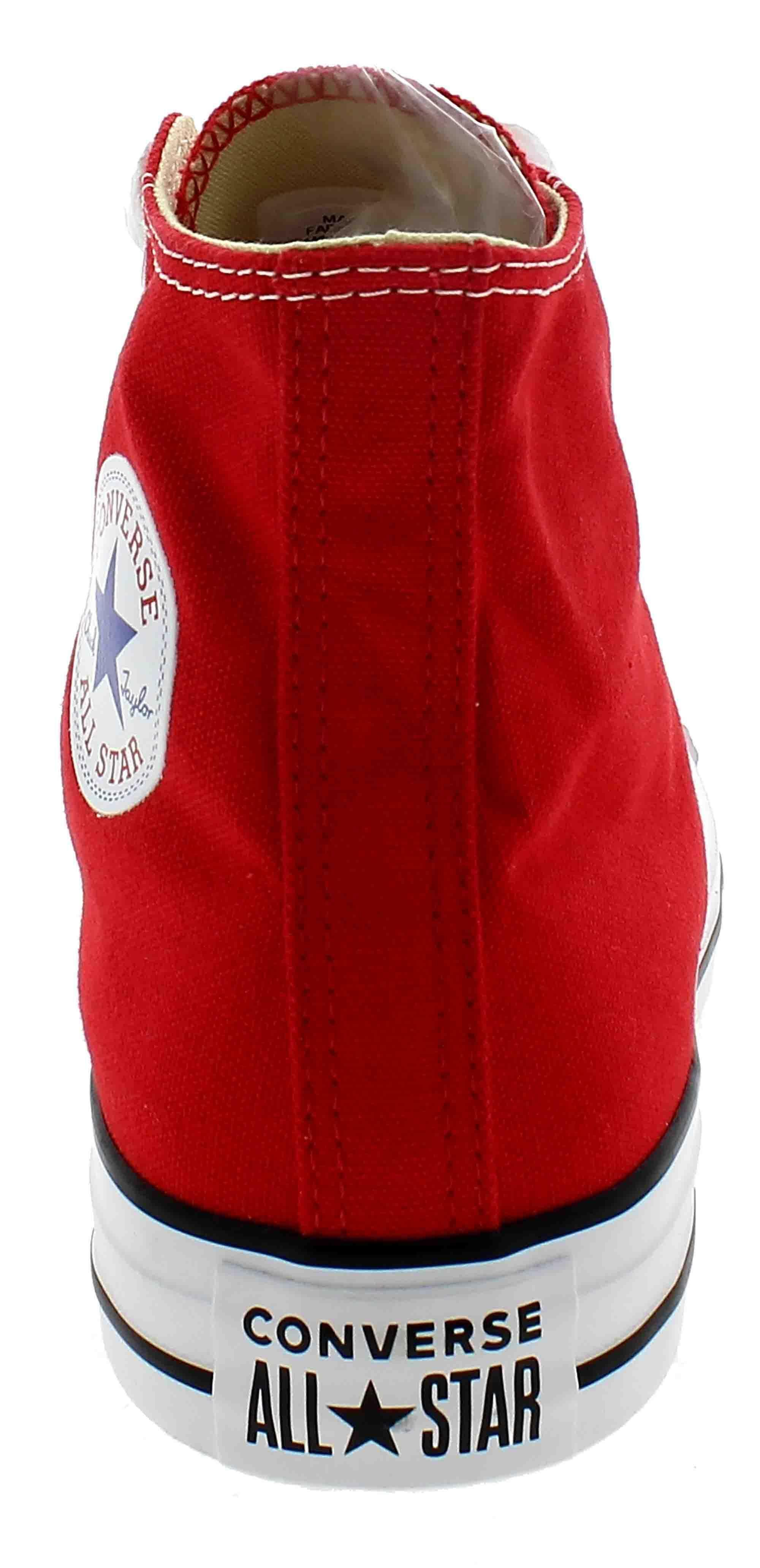 converse converse all star hi scarpe sportive alte rosse m9621