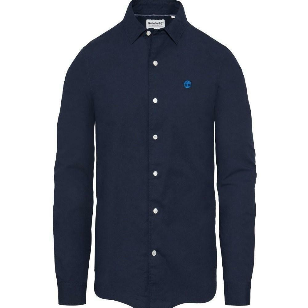 timberland timberland ls sncook rv strch camicia uomo blu a1jmjb68