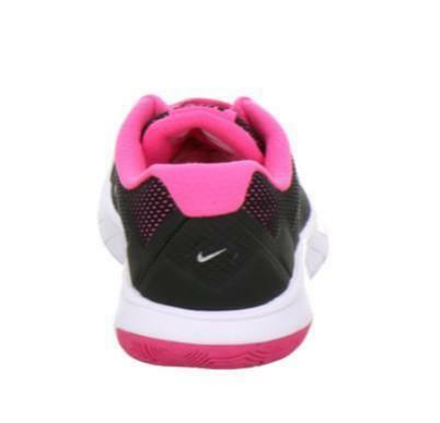 nike nike flex experience 4 gs scarpe sportive donna nere pelle tela 749818