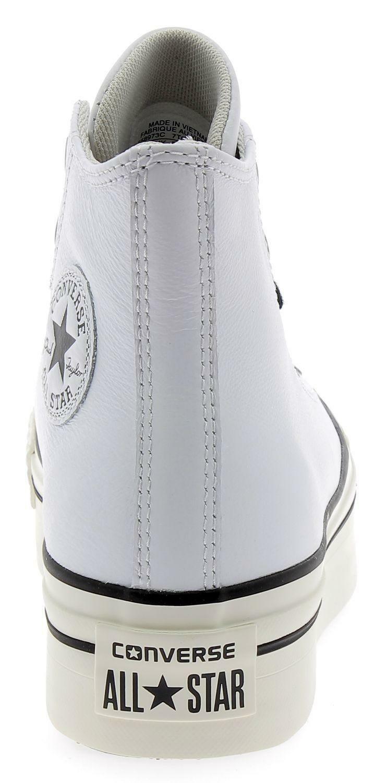 d29e405192 Converse ctas platform hi scarpe sportive pelle donna bianche