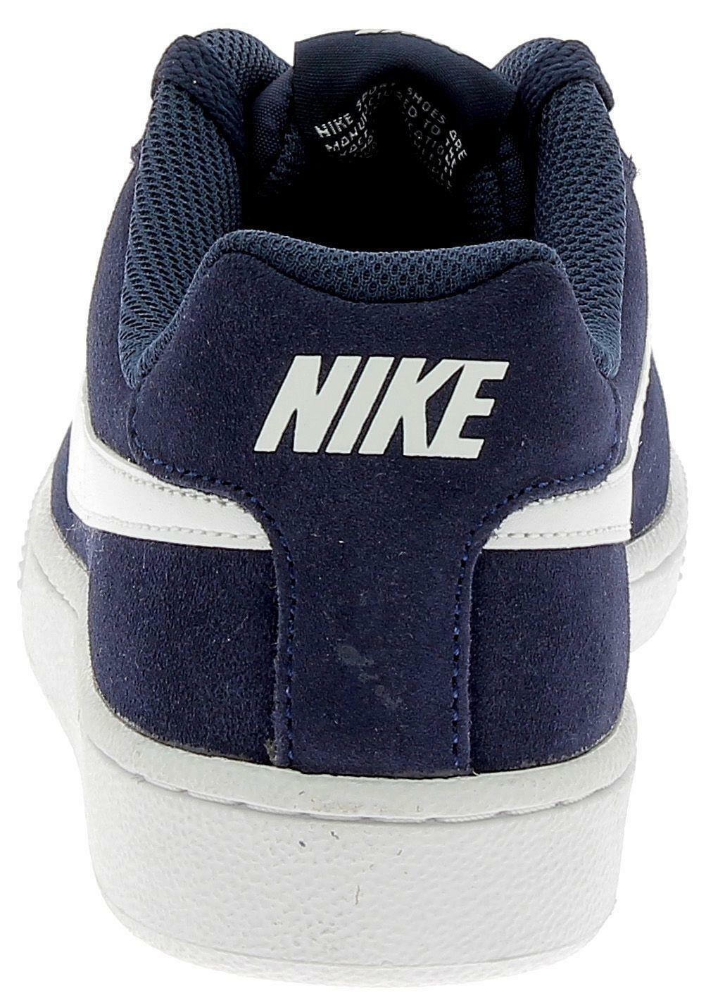 nike nike court royale suede scarpe uomo blu