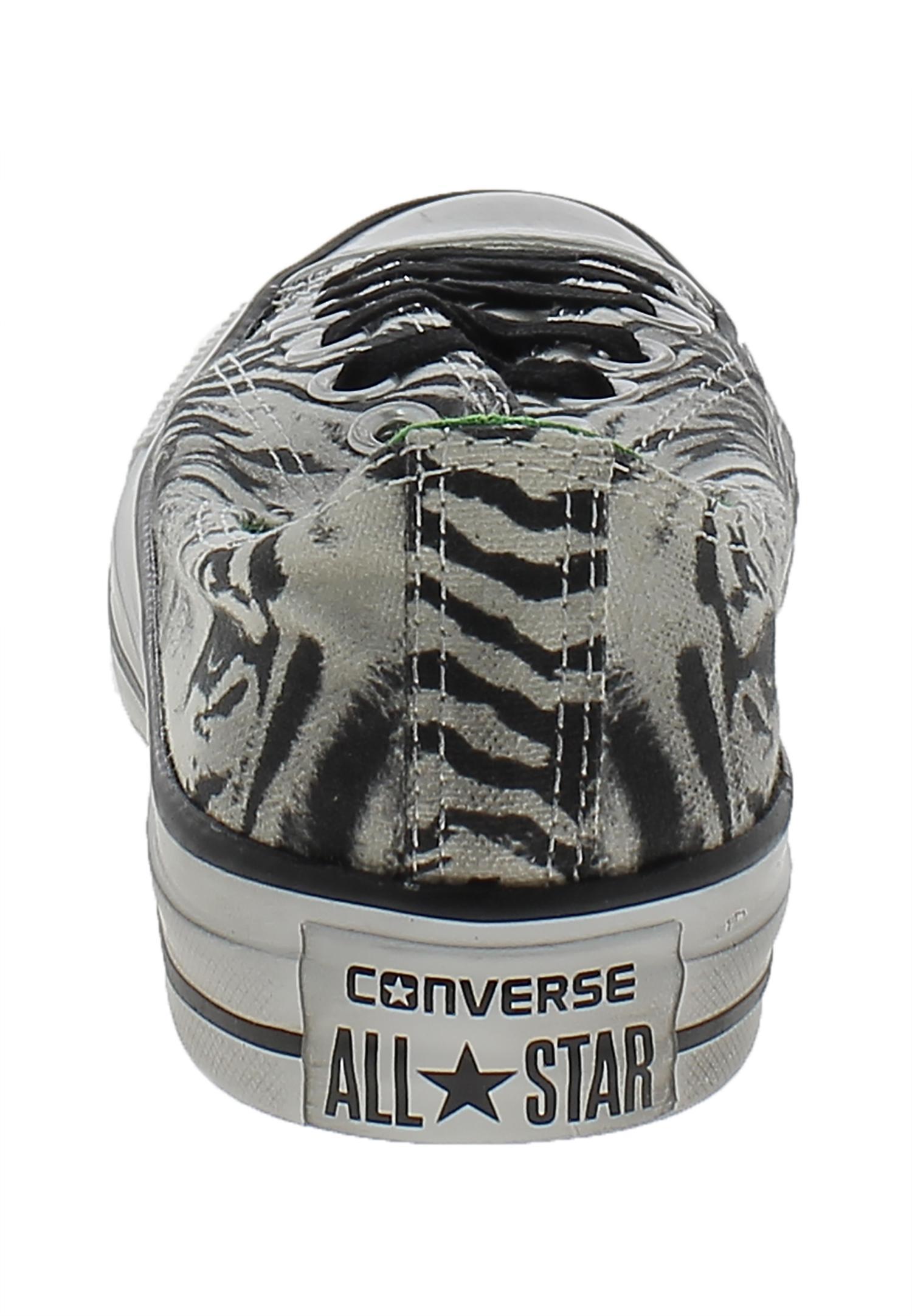 converse converse all star ct print ox safari bianco 144312c