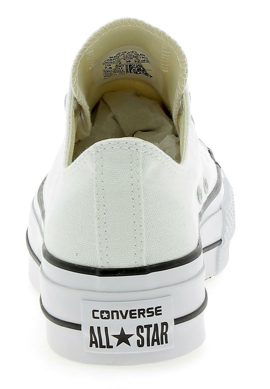 converse converse ctas lift ox platform scarpe sportive donna bianche 560251c