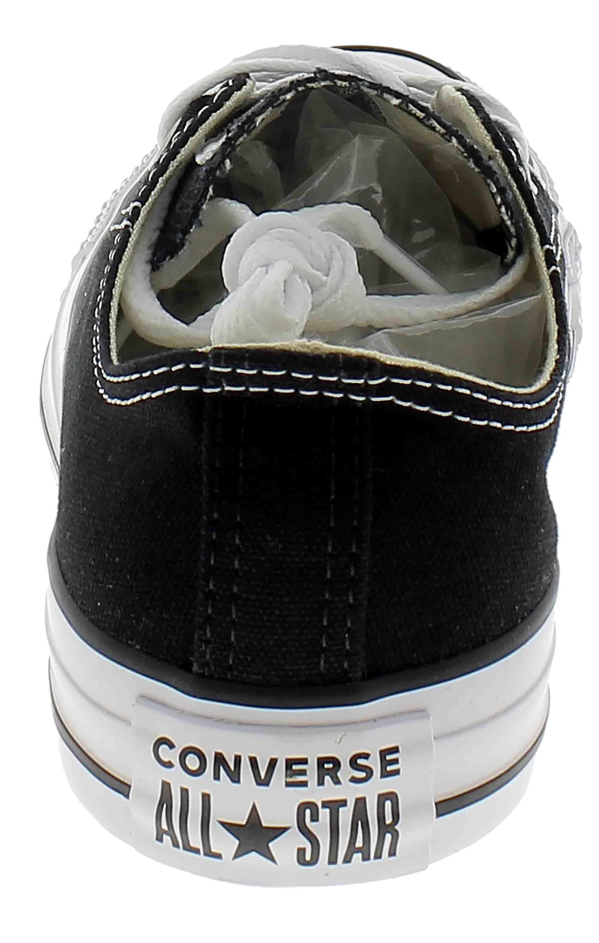 converse converse all star ox optical scarpe sportive basse nere m9166