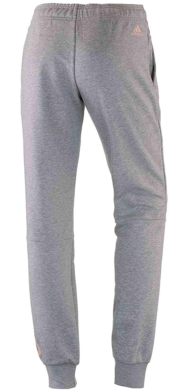 adidas adidas ess lin pantaloni tuta donna grigi cz5737