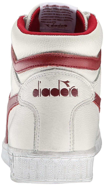 diadora diadora game l high waxed scarpe sportive uomo bianche 159657c5147