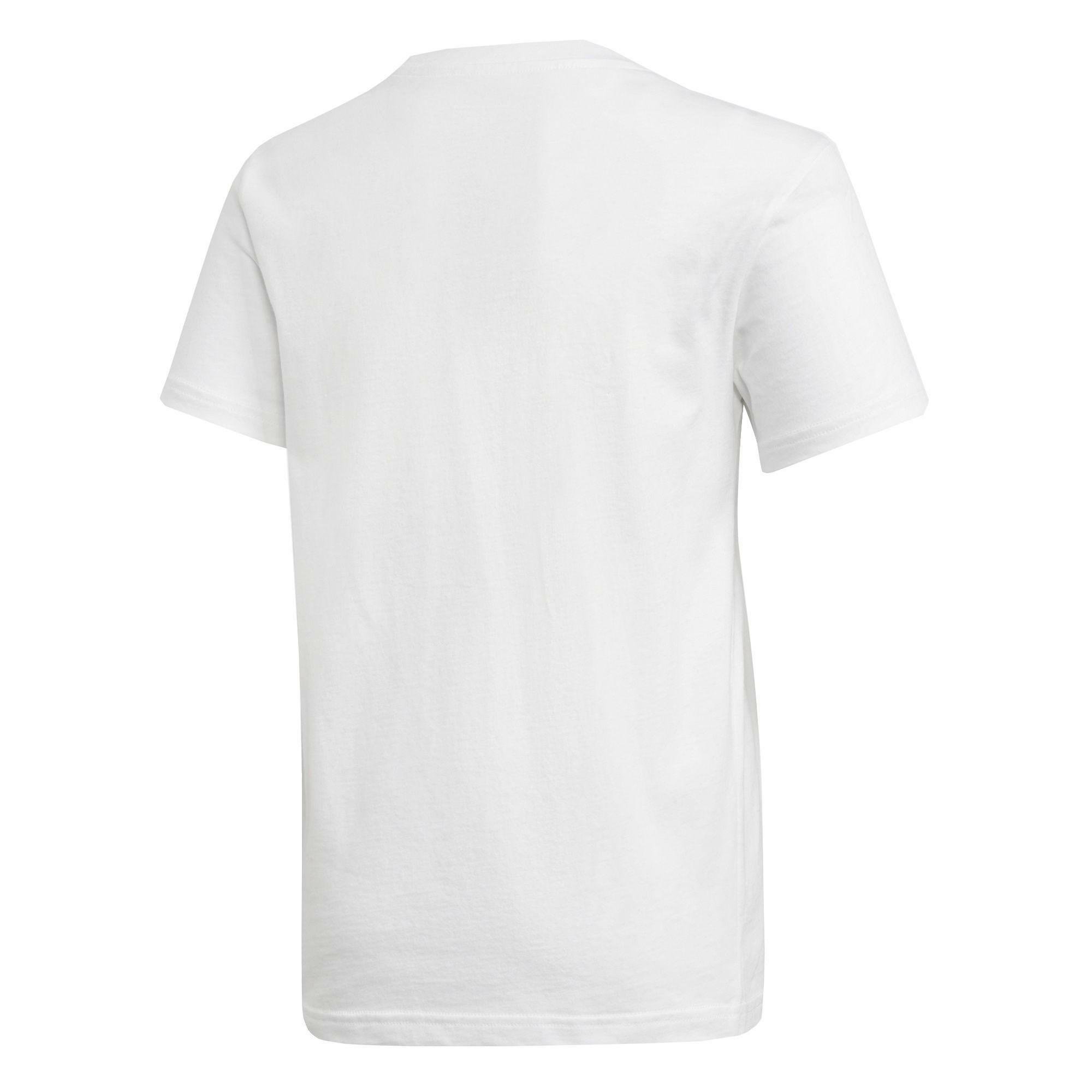 adidas adidas trf t-shirt bambino bianca dh2708