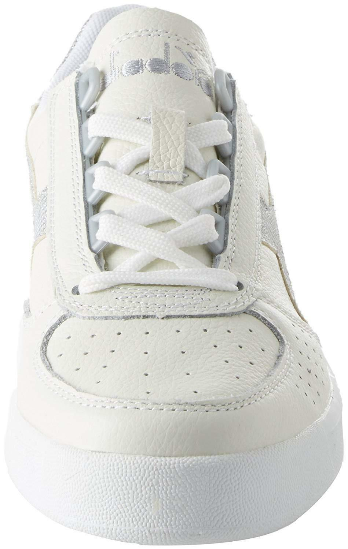 diadora diadora b.elite l scarpe sportive donna bianche argento 173135c0516