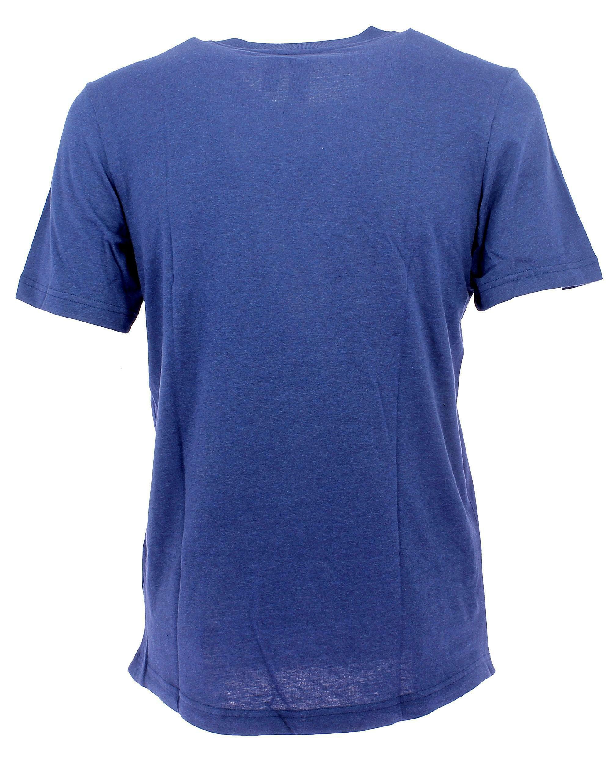 adidas adidas sid logo t-shirt uomo blu dm4062