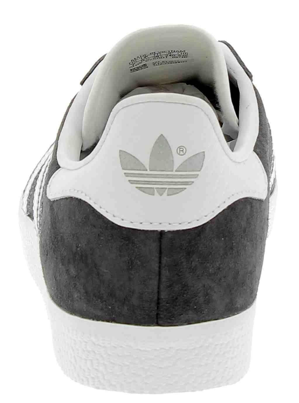 adidas adidas gazelle scarpe sportive uomo grigie pelle pitonata
