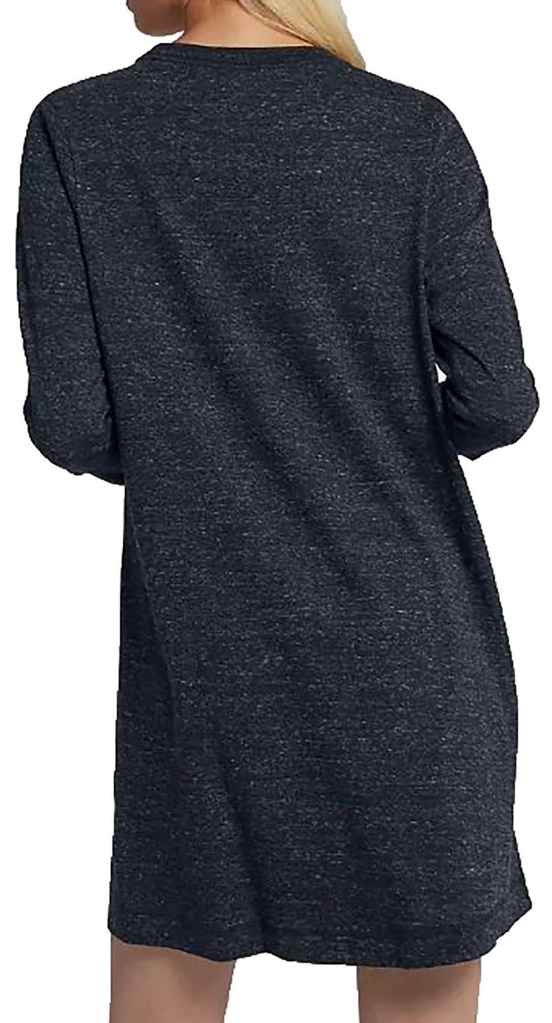 nike nike vestito donna loose fit grigio aa2015060