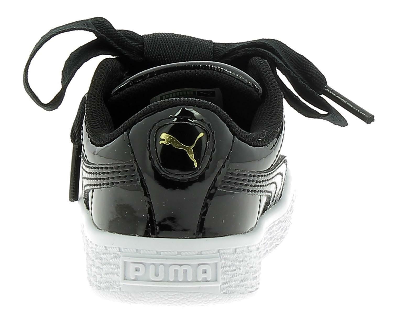 Ps Puma Sport Black Patent Chaussures Basketball 36335201 Sur Heart vnm8N0wO