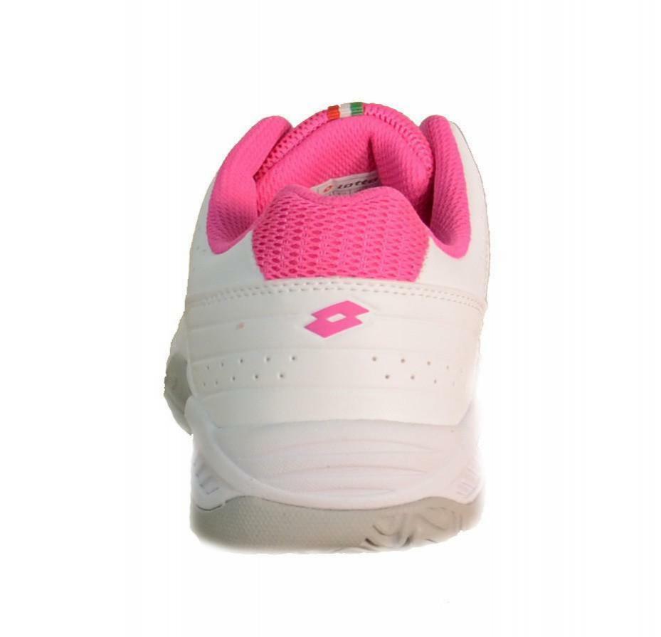 lotto t-tour 7 600 scarpe sportive tennis donna bianche pelle s1484
