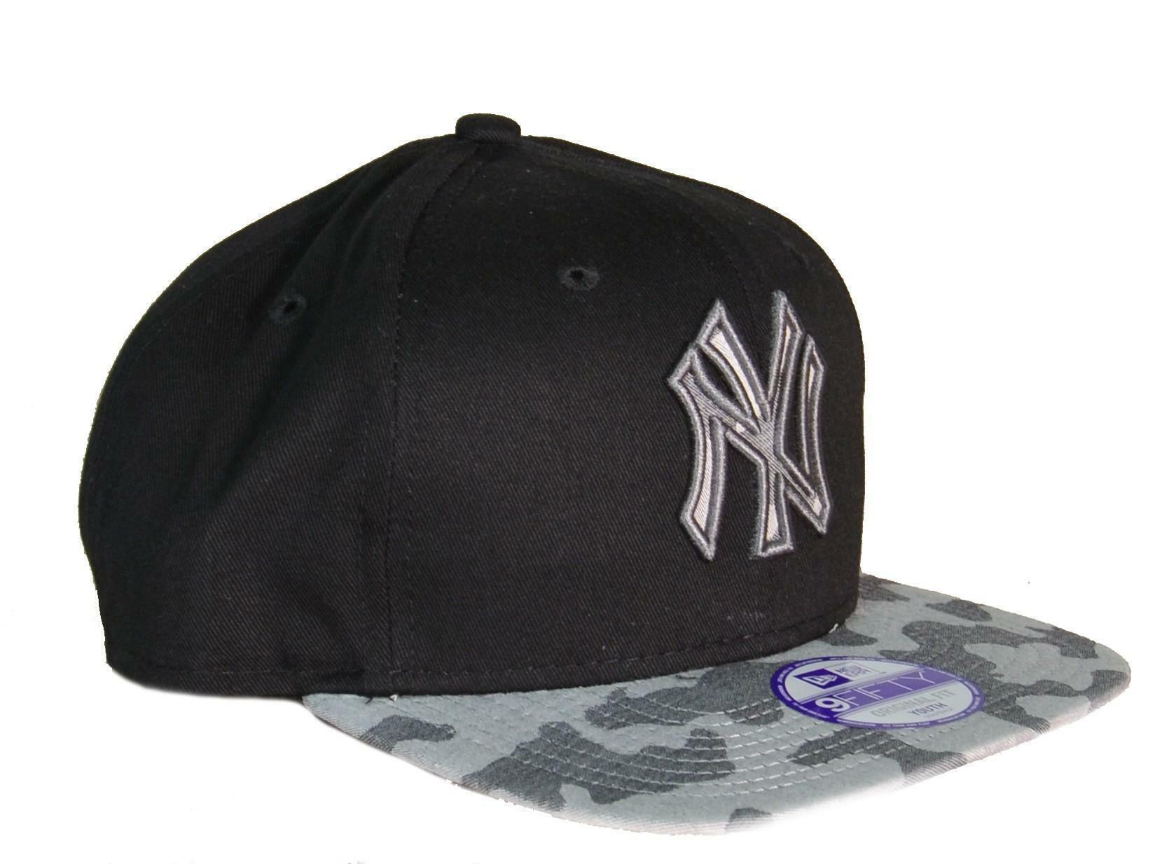 new era new era cappello bambino nero militare camo