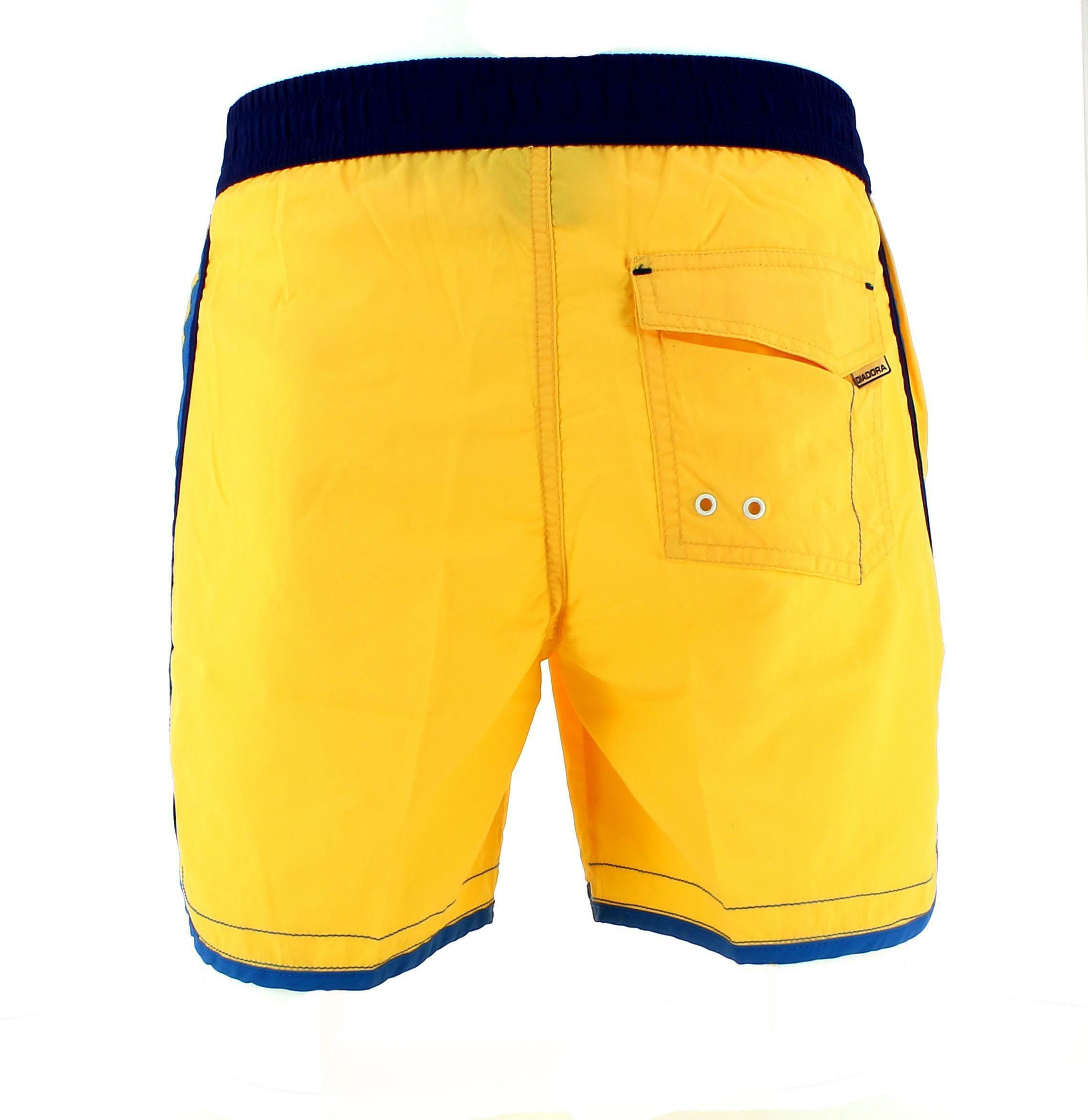 diadora diadora costume uomo giallo