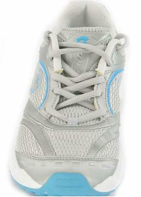 lotto miami w scarpa sportiva donna argento h8617