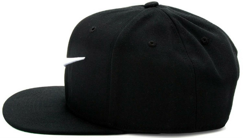 nike nike pro swoosh cappello nero