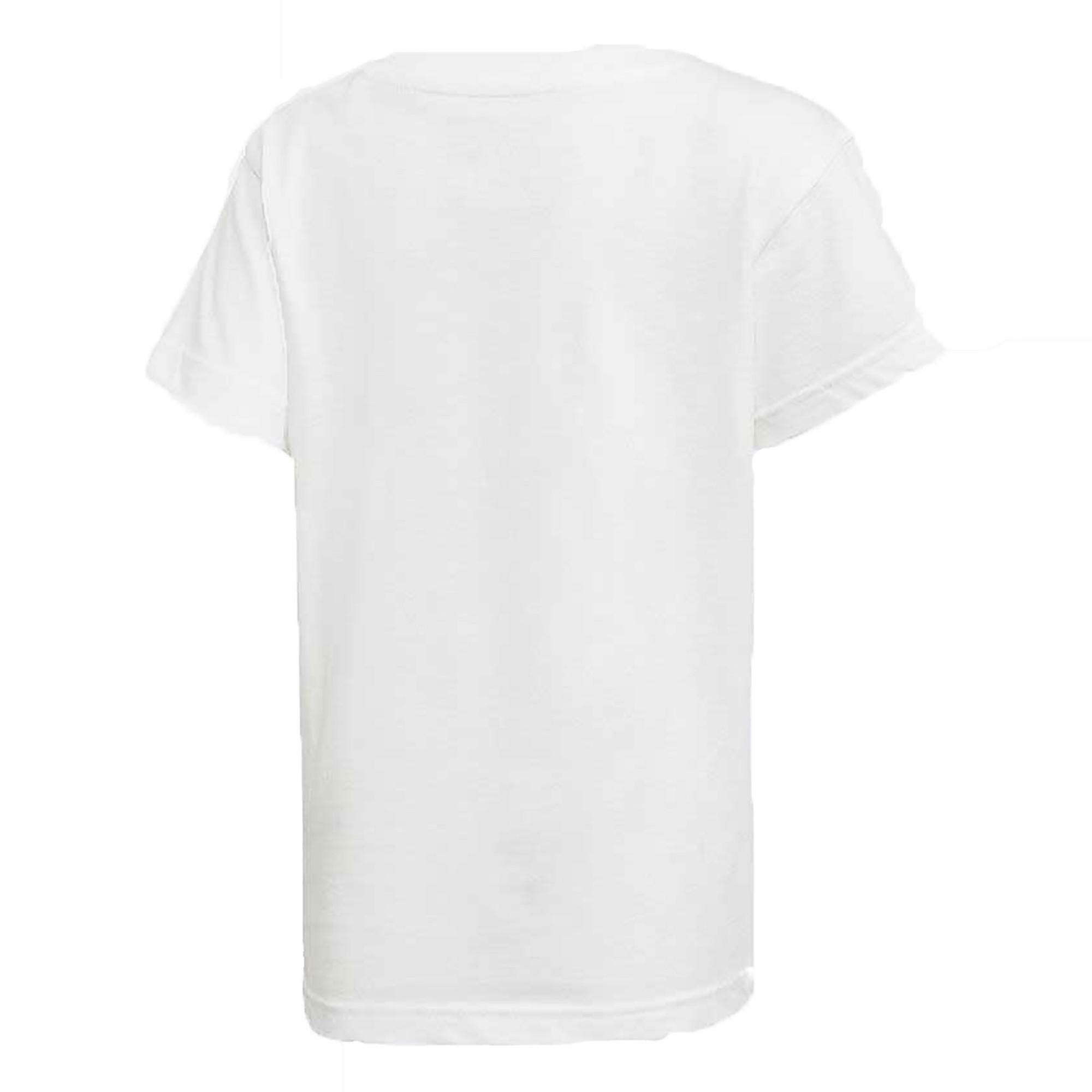 adidas adidas trefoil t-shirt bambino bianca dh2471
