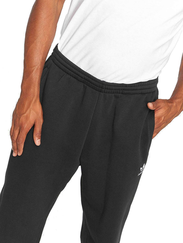 adidas adidas pantaloni tuta uomo neri dh3857