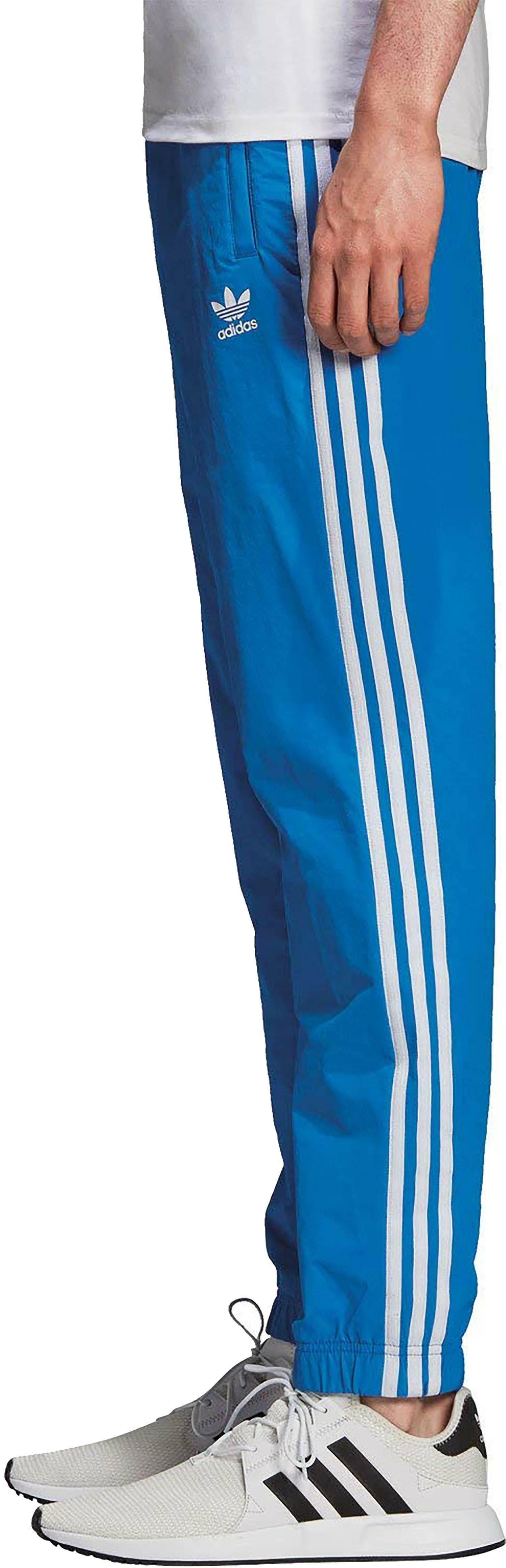adidas adidas warm-up tp pantaloni tuta uomo blu dh5765