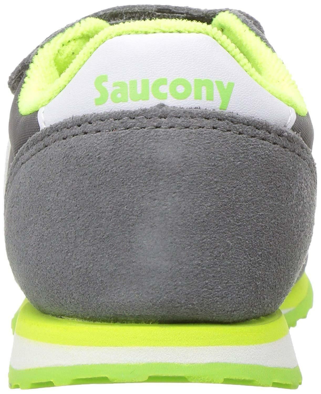 saucony saucony jazz scarpe sportive bambino grigie strappo sl259640