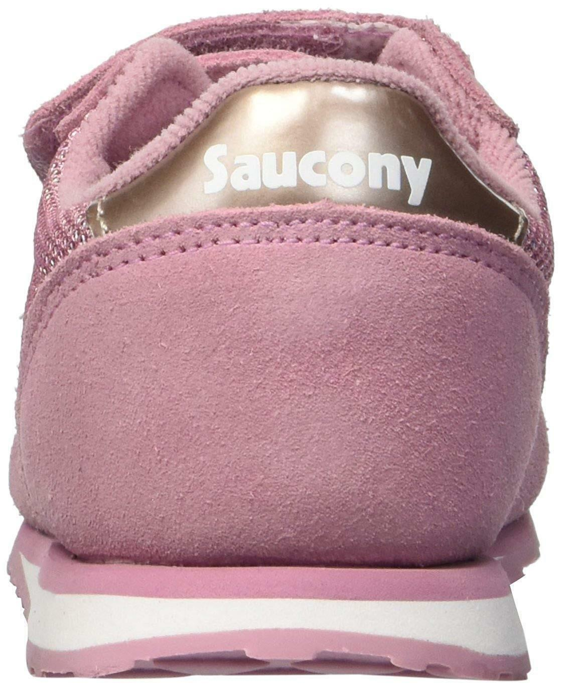 Saucony jazz scarpe sportive bambina rosa strappo sl159644