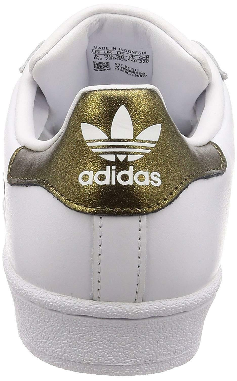 adidas adidas superstar w scarpe sportive donna bianche b41513