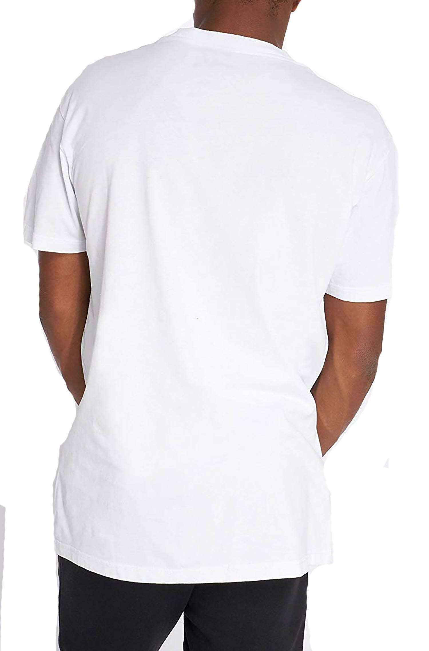 napapijri t-shirt napapijri sagar n0yhud002 uomo bianca