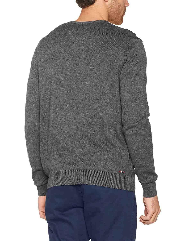 napapijri maglione napapijri dakshin crew n0ygpc197 uomo grigio