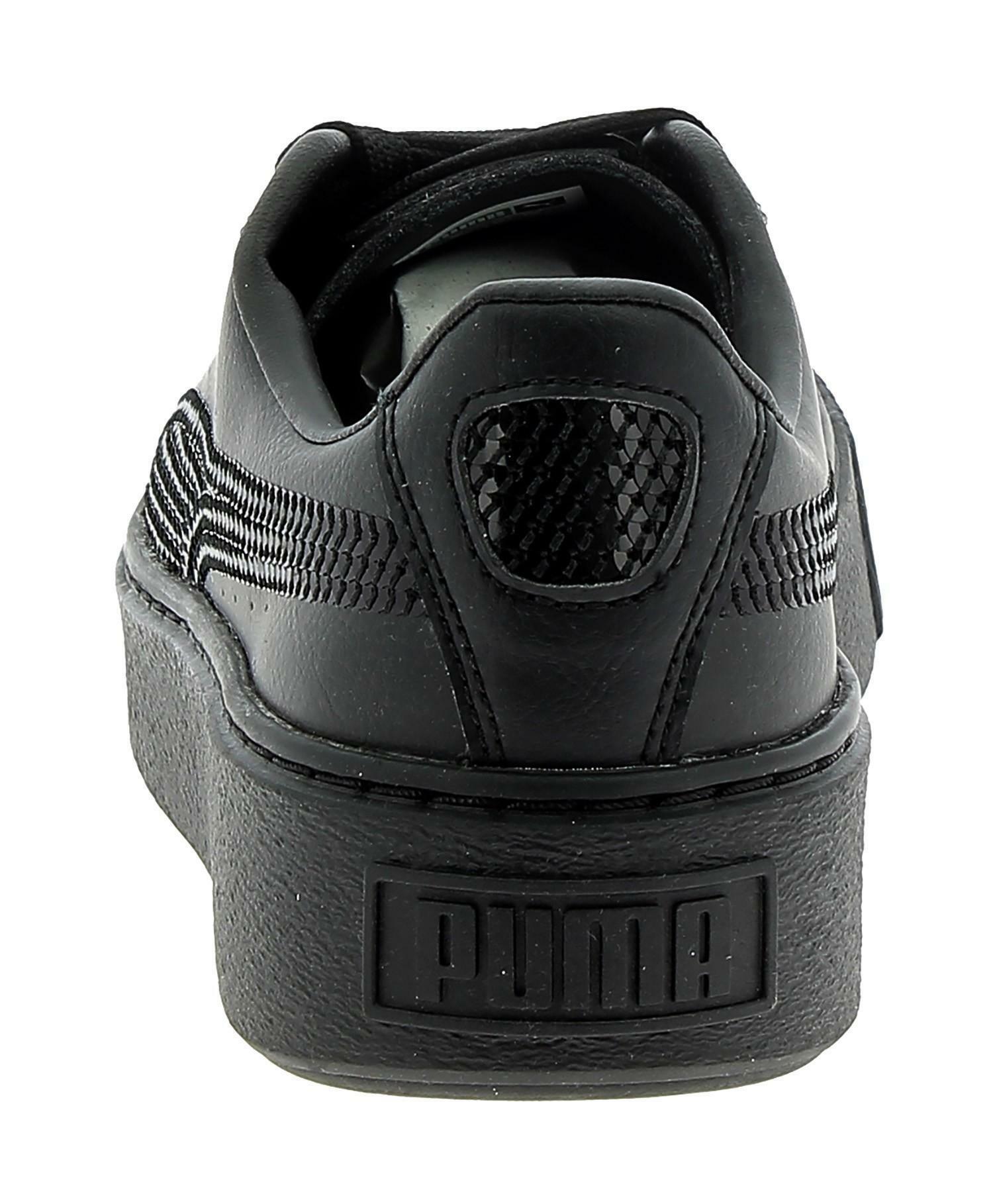 Puma platform scarpe sportive donna nere glitterate 36723701