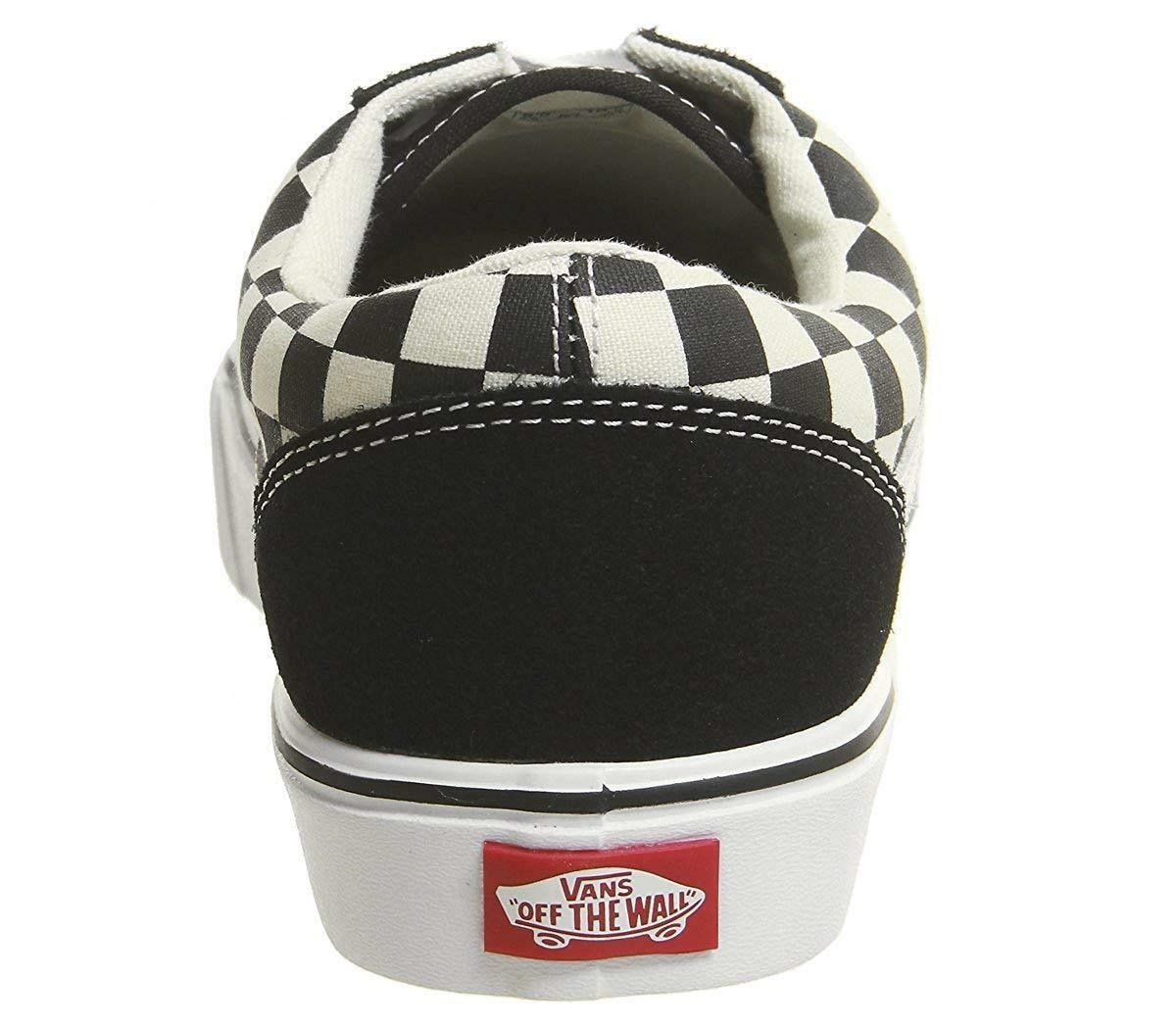 vans vans old skool lite checkerboard scarpe sportive nere vn0a2z5w5gx