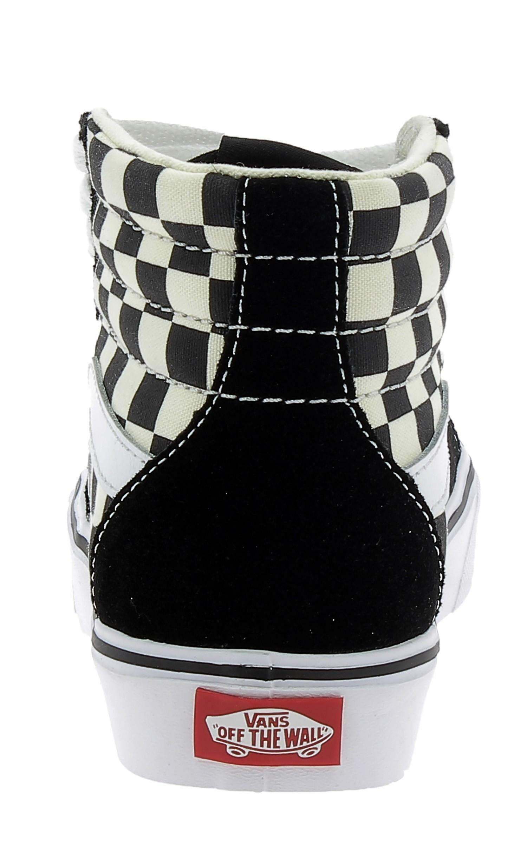 vans vans hi lite checkerboard scarpe sportive nere vn0a2z5y5gx