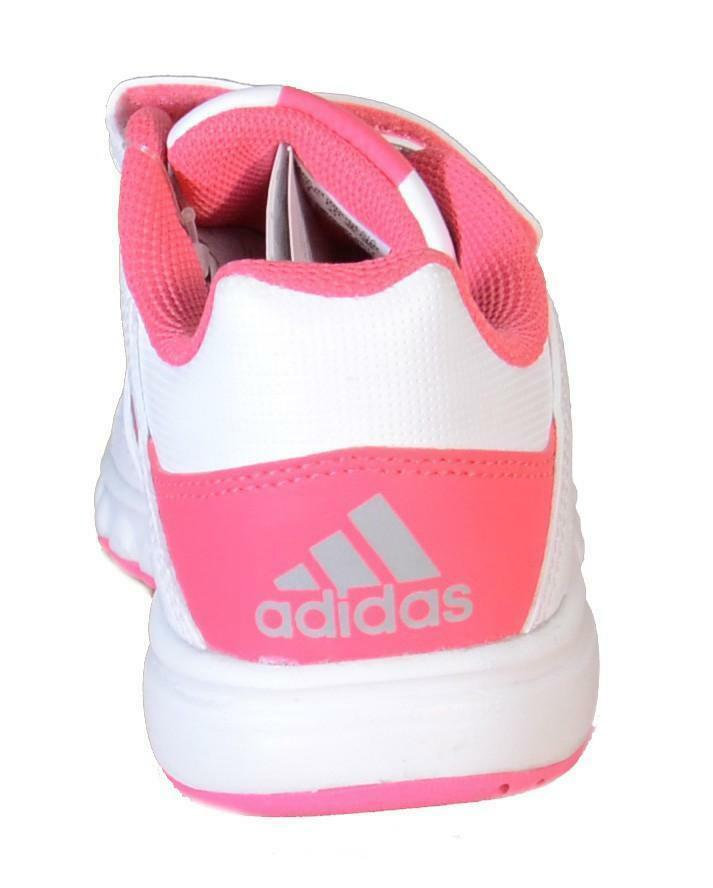 adidas adidas bts class 4 cf k scarpe bambina bianche pelle strappi d65706