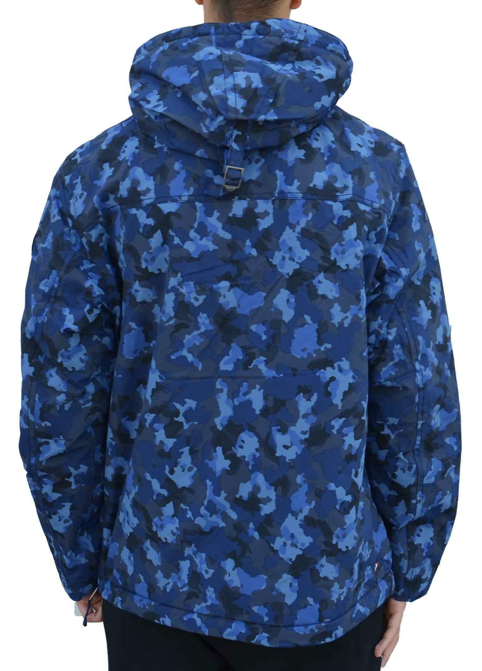 napapijri giubbotto marsupio napapijri rainforest print n0yhvbf87 blu camouflage