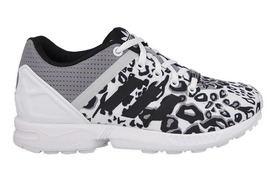 adidas adidas zx flux split k scarpe sportive bambina/o bianche tela s78735