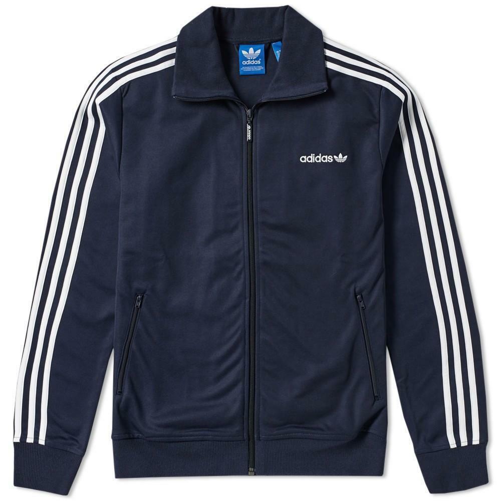 adidas adidas beckenbauer tt giacchetto uomo blu aj6952
