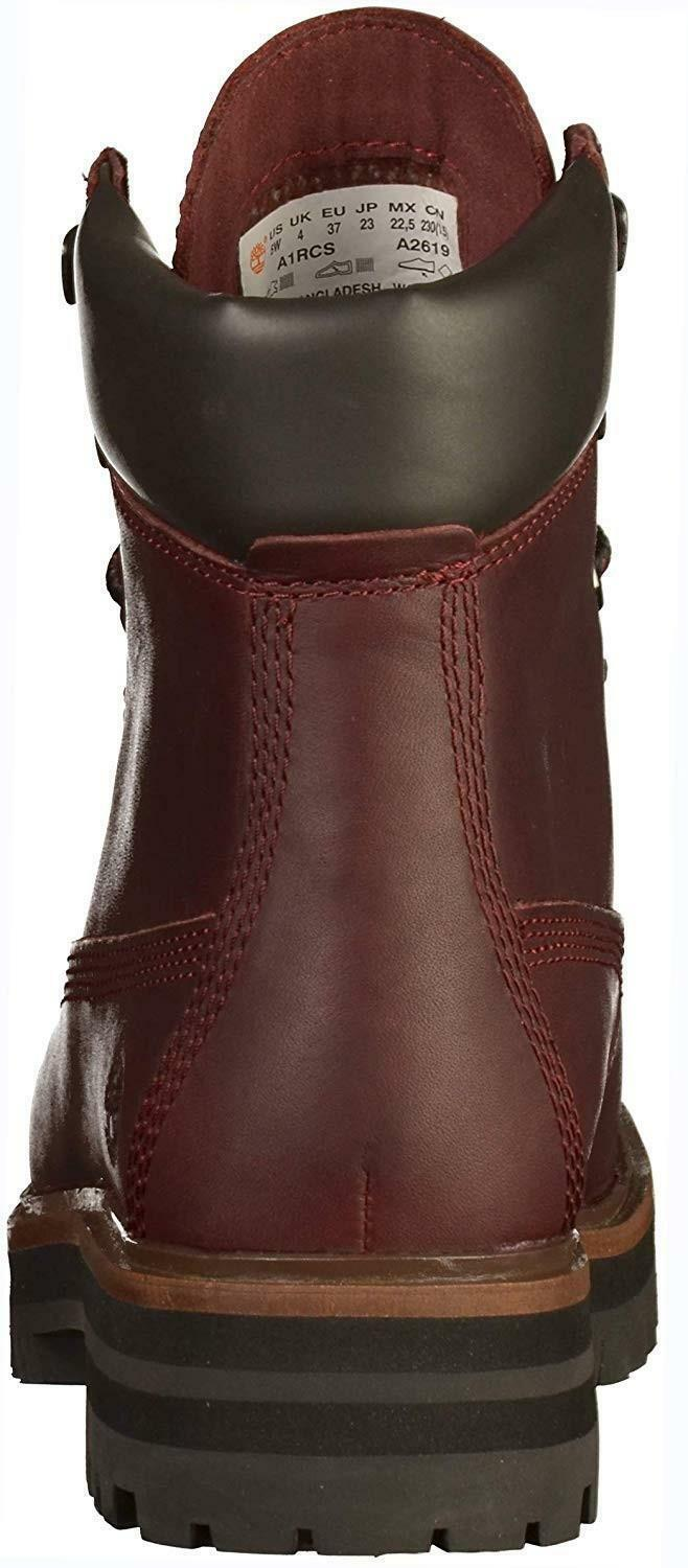 timberland london square 6 in scarponcini donna bordeaux a1rcs