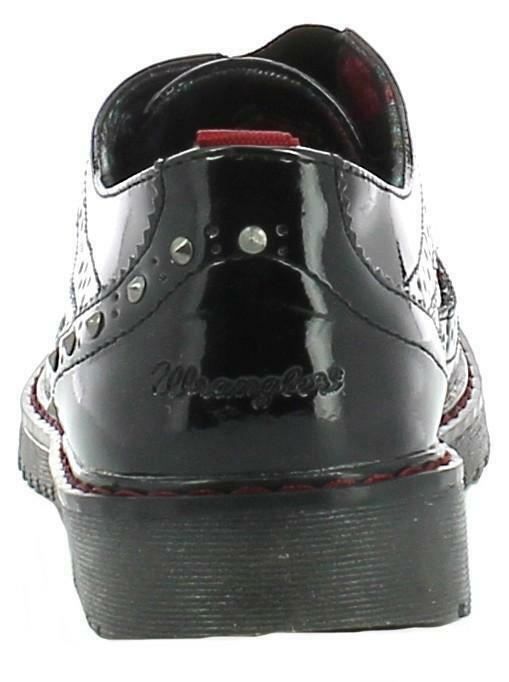 wrangler rocky brogue scarpe nere wg16210