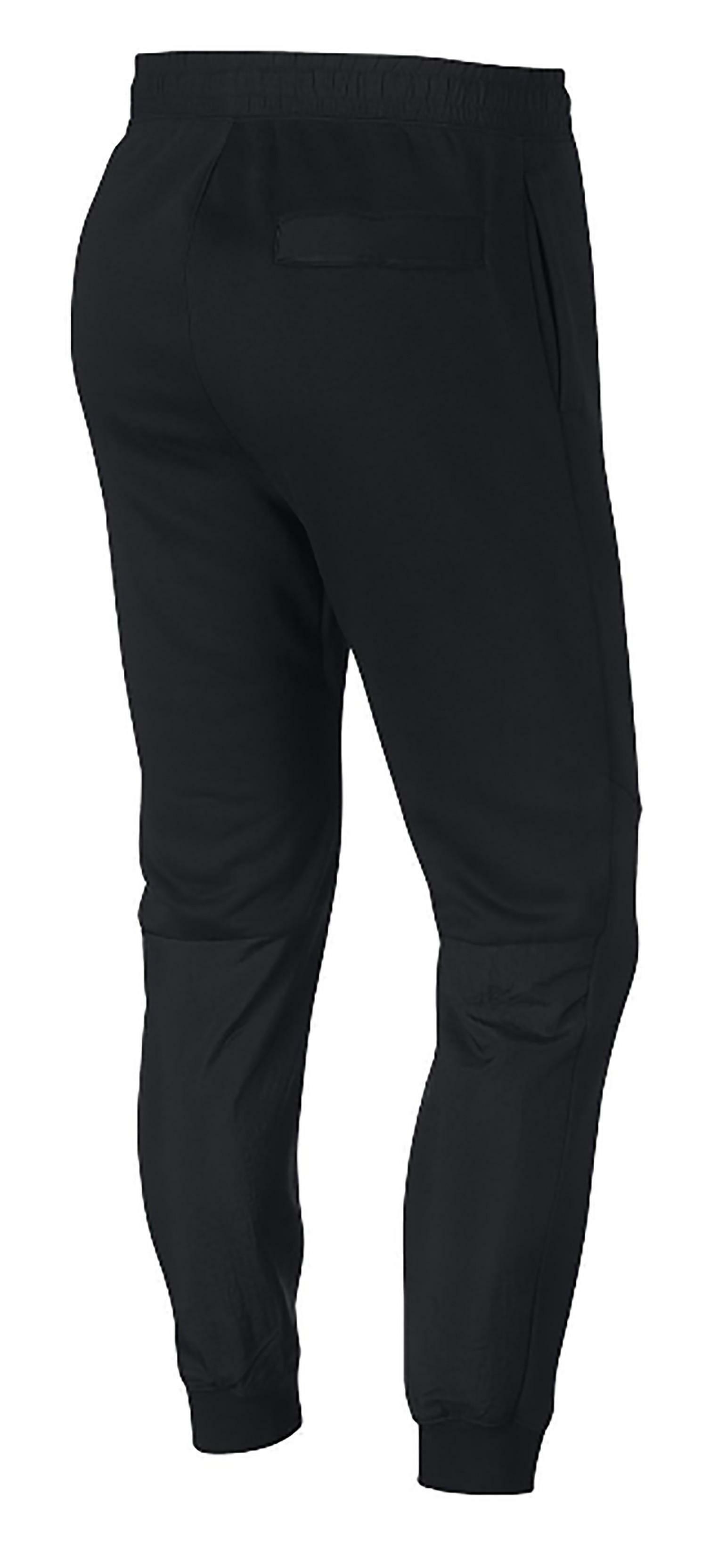 Nike just do it pantalone felpato uomo neri 931903010