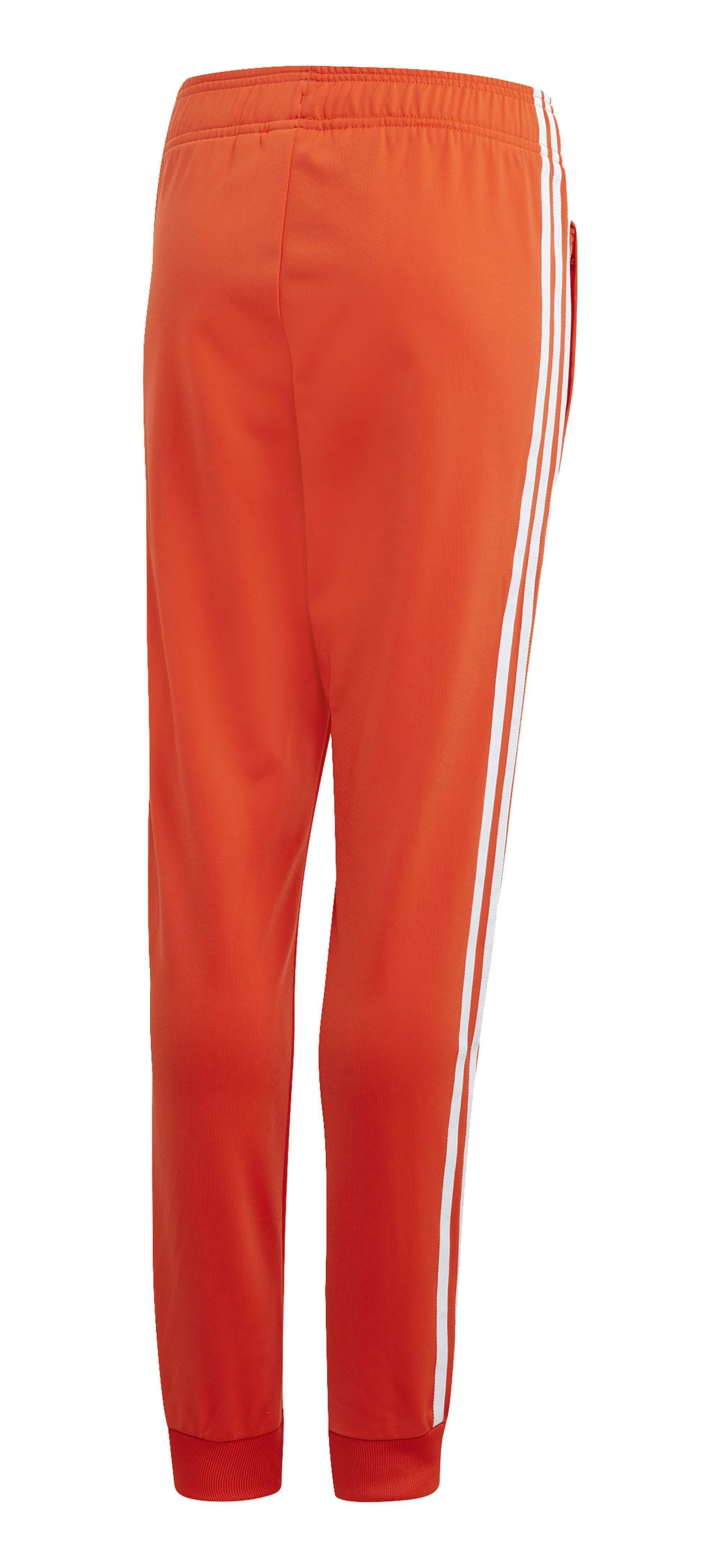 adidas superstar pantalone bambino arancione dv2881