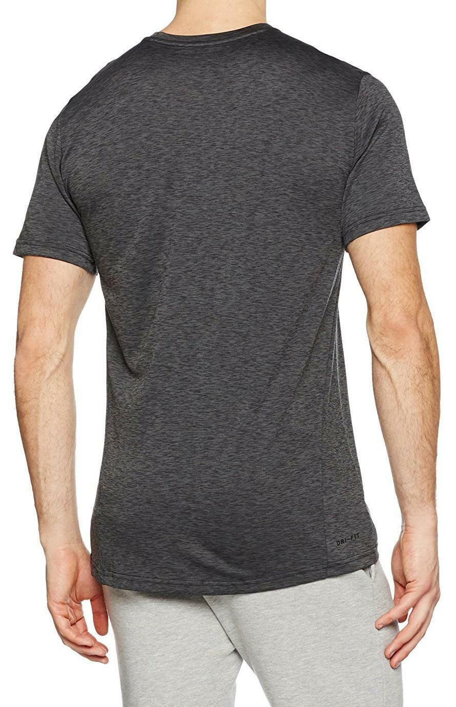 nike nike dry academy t-shirt uomo nera