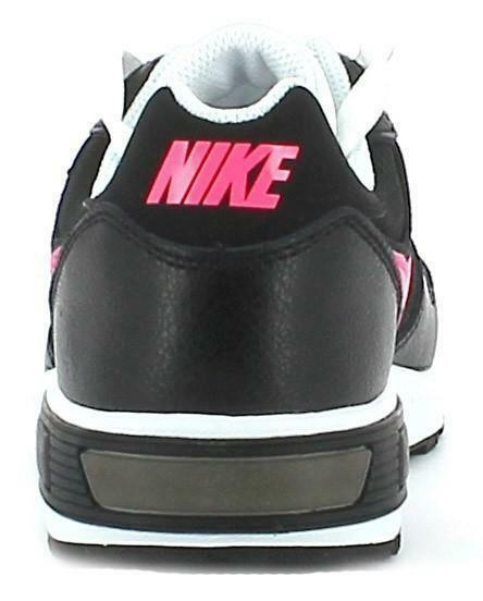 nike nike nightgazer scarpe sportive donna tela nere