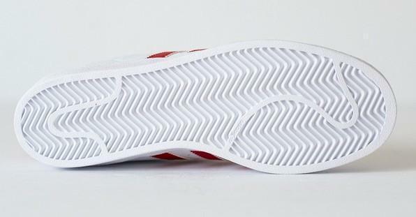adidas superstar foundation scarpe sportive uomo bianche pelle b27139