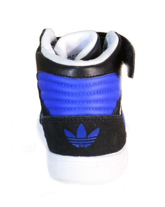 adidas adidas pro play 2 cf i scarpe bambino nere pelle lacci strappi b25722